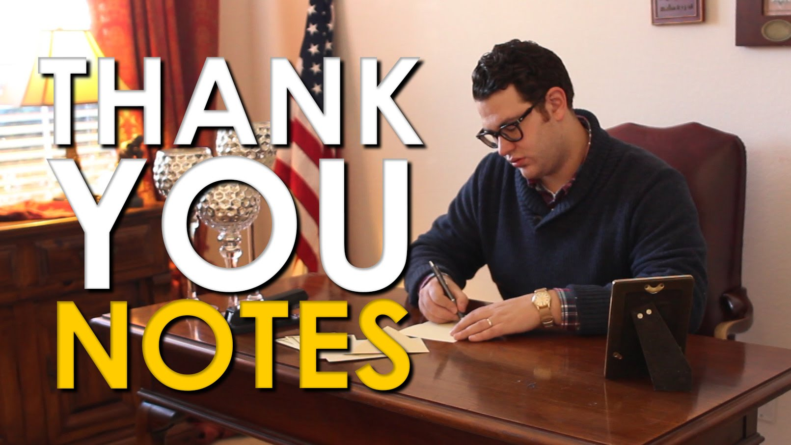 How to Write a Thank You Note [VIDEO] | The Art of Manliness