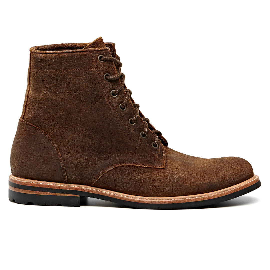 Nisolo Andres brown boot.