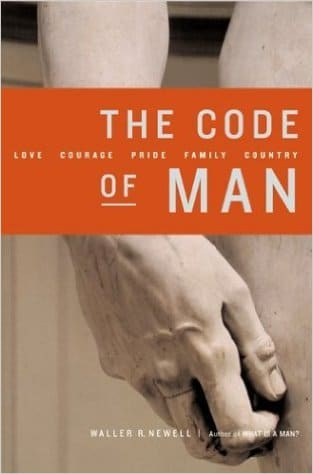 code of man book cover waller newell
