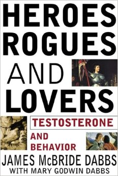 heros rogues lovers testosterone book cover james dabs
