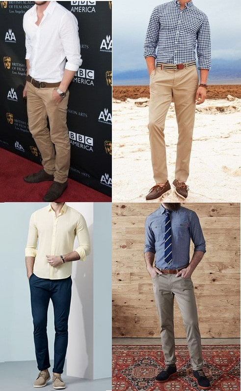 Light Brown Shoes With Khakis