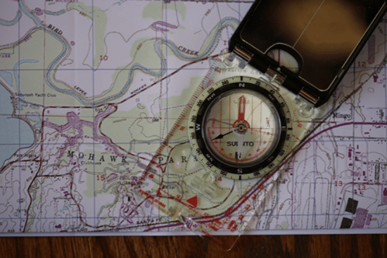 Land Navigation: How to Orient With a Map & Compass | The Art of Manliness