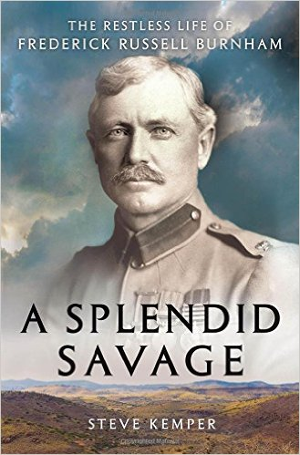 A splended Savage, book cover by Steve kemper.