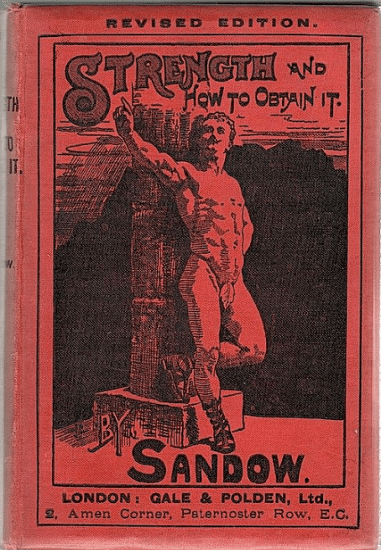 strength and how to obtain it book cover eugen sandow strongman