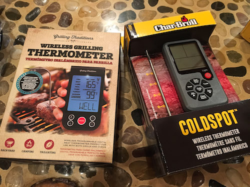 Wireless thermometers give accurate temperature by Coldspot.