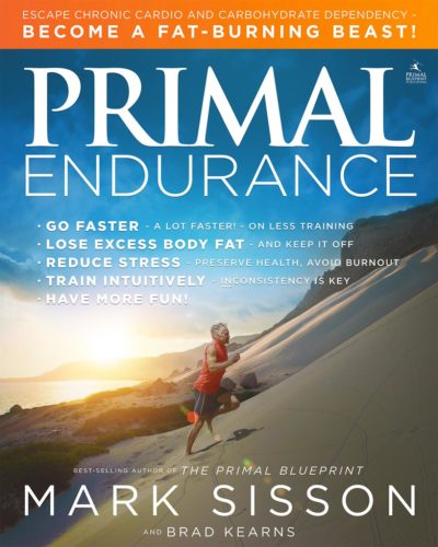 Primal Endurance book cover Mark Sisson and Brad Kearns.