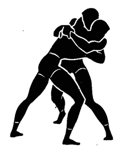 wwii strength and conditioning exercises wrestling illustration