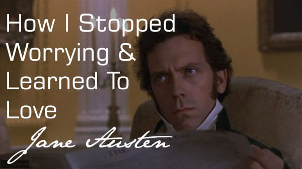 hugh laurie playing jane austen character