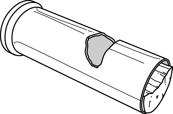 bullet casing whistle survival hack illustration