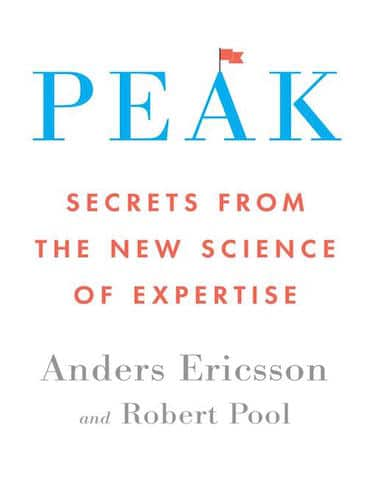 Peak science of expertise book cover, by Anders Ericsson.