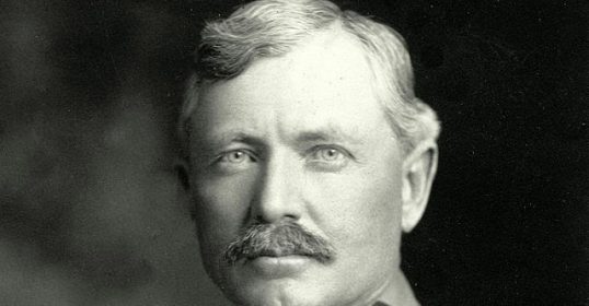 Major Frederick Russell Burnham 1901 painting