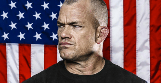 jocko willink navy seal american flag background
