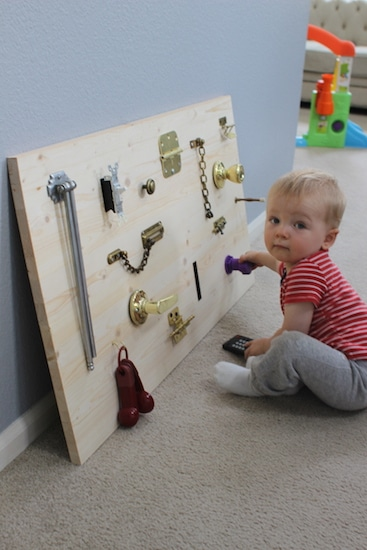 Diy Toddler Activity Board The Art Of Manliness