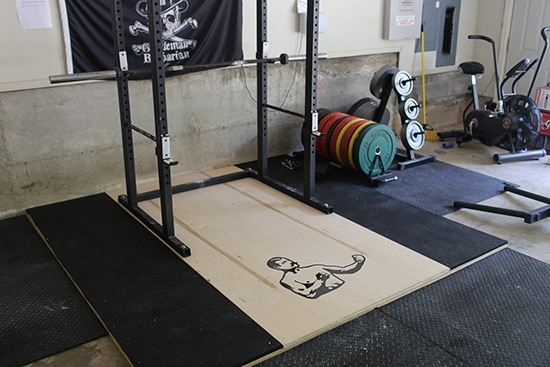 How to build a weightlifting platform the art of manliness