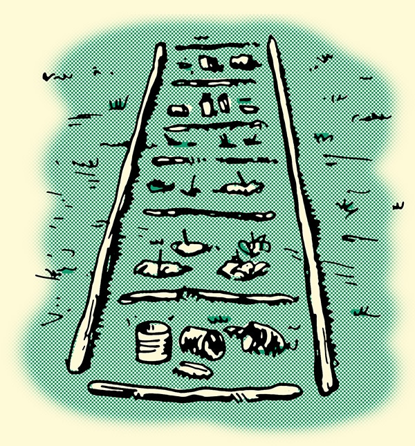 aging stand for learning human tracking techniques illustration
