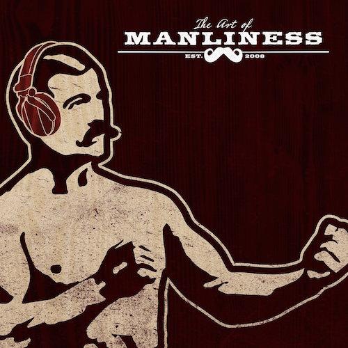 Art of manliness podcast logo.