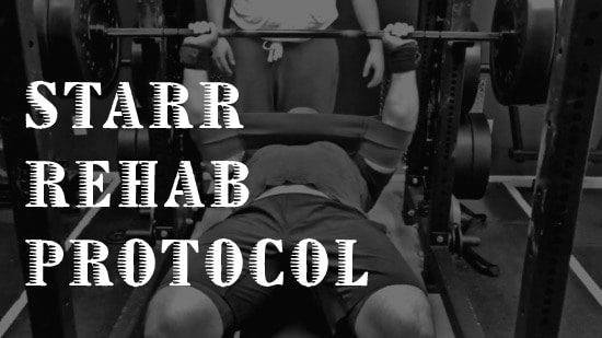 starr rehab protocol for muscle tears and strains