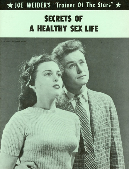 joe weider secrets of a healthy sex life pamphlet