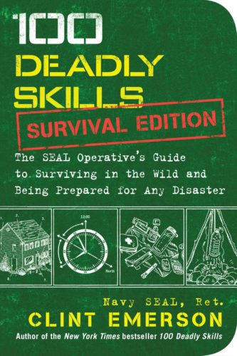 100 Deadly skills by clint emerson, book cover.