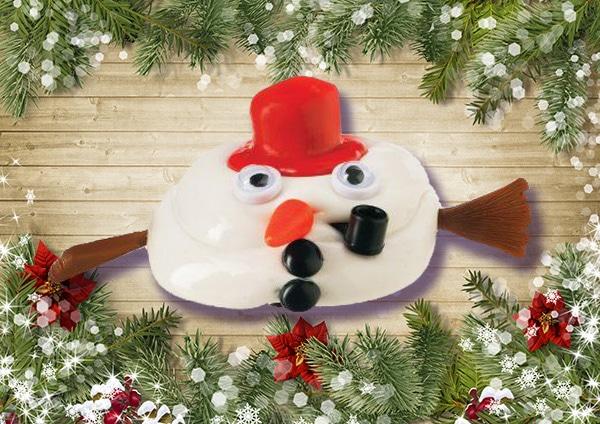 Melting snowman stuffer for women.
