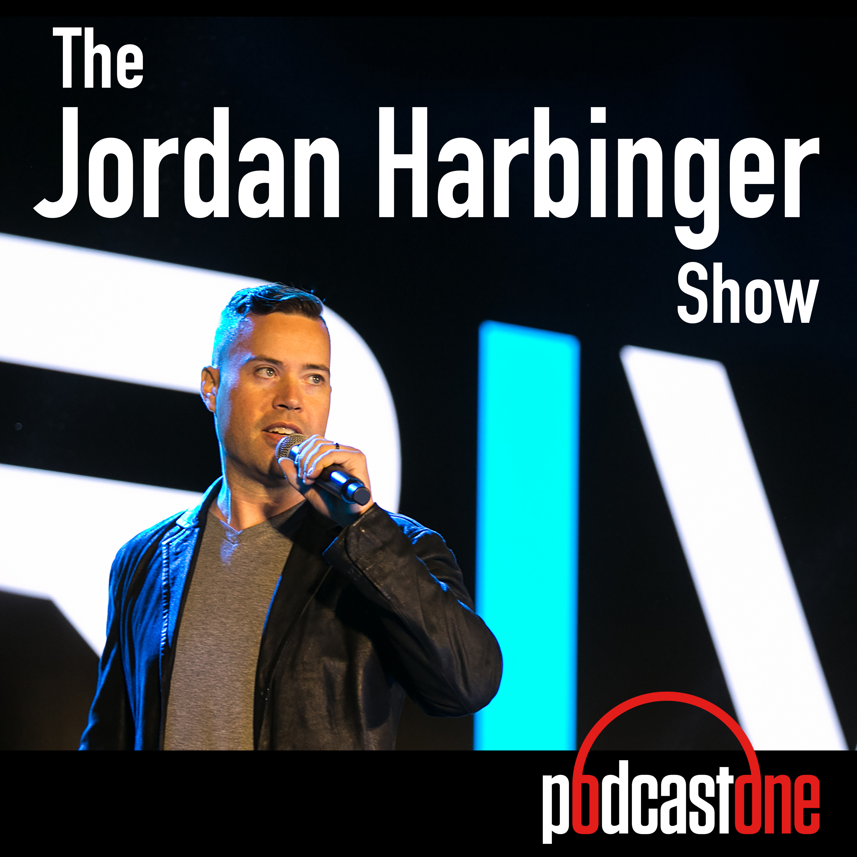 The jordan harbinger show postcard.
