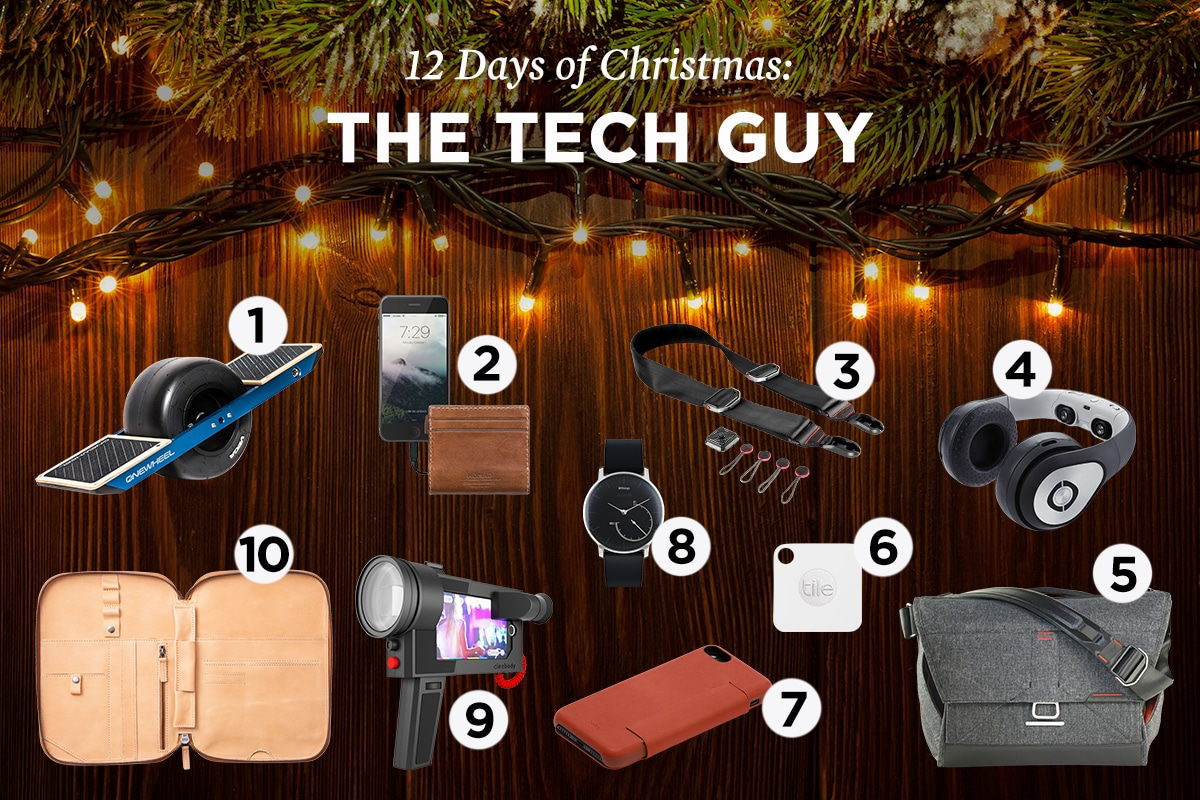 Christmas Gifts for the Tech Guy & Christmas Gifts for the Tech Guy | The Art of Manliness