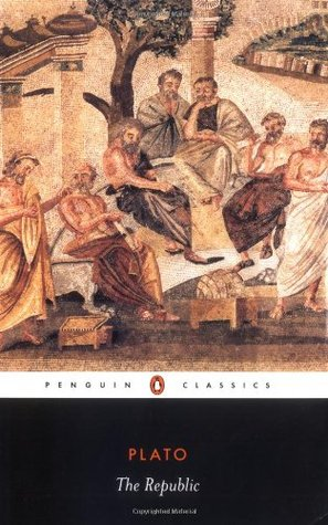The Republic by Plato, book cover.