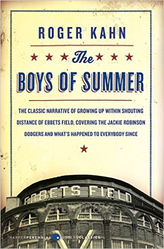 The Boys of Summer by Roger Kahn, book cover.