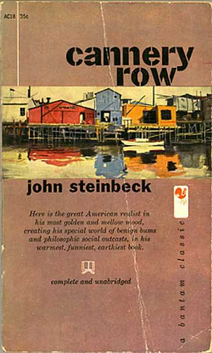 cannery row book analysis