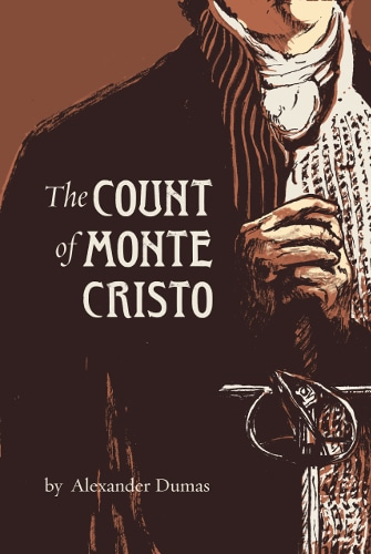 The Count of Monte Cristo by Alexander Dumas, book cover.