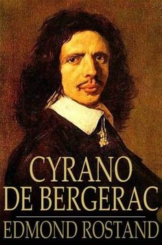 Cyrano de Bergerac by Edmond Rostand, book cover.