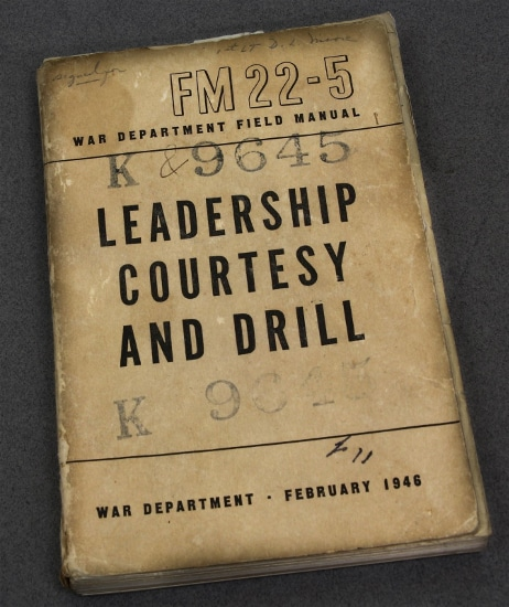 fm 22-5 military field manual leadership courtesy and drill
