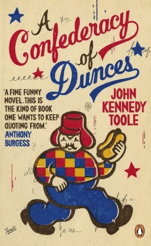A Confederacy of Dunces by John Kennedy Toole, book cover.