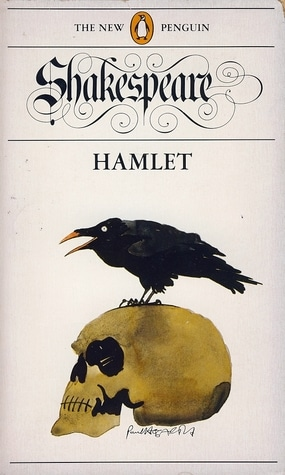 Hamlet by William Shakespeare, book cover.
