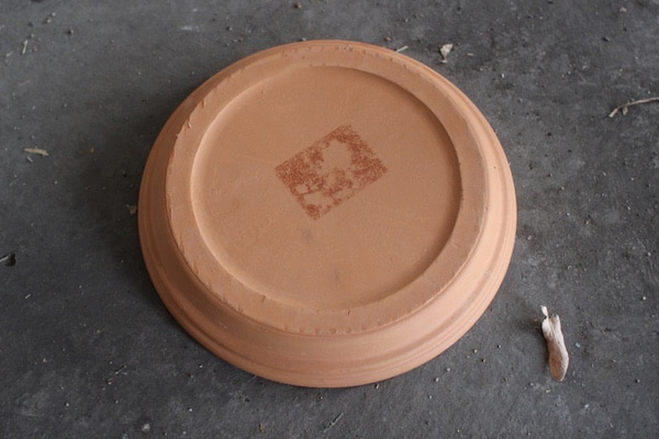 clay pot drip tray 7""