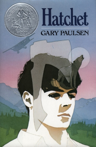Hatchet by Gary Paulsen, book cover.