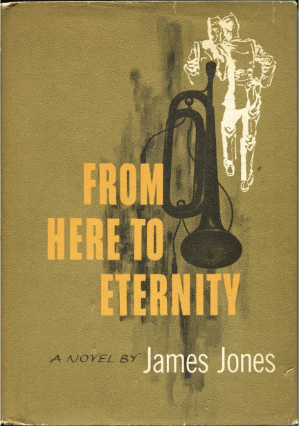 From Here to Eternity by James Jones, book cover.