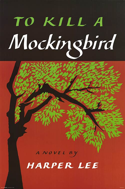 To Kill A Mockingbird by Harper Lee, book cover.