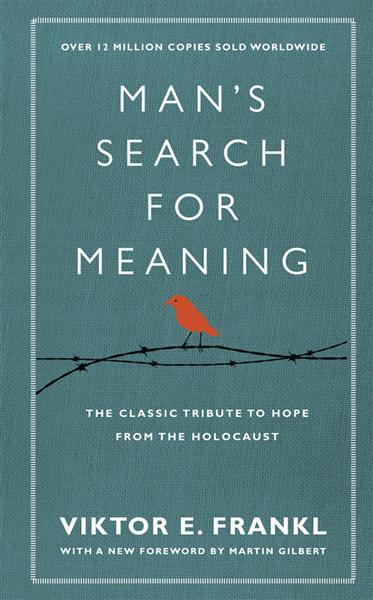 Man's Search for Meaning by Viktor Frankl, book cover.