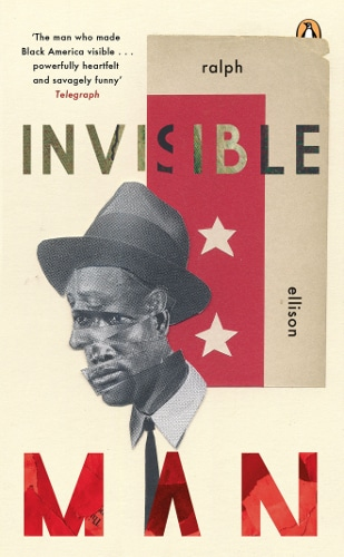 The book cover of Invisible Man by Ralph Ellison.
