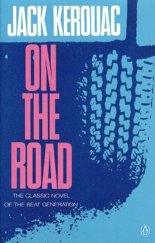 On the Road by Jack Kerouac, book cover.