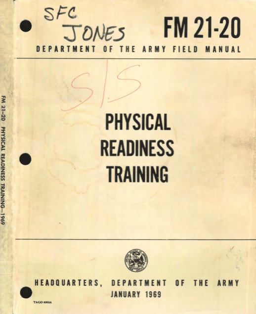 fm 21-20 physical readiness training manual
