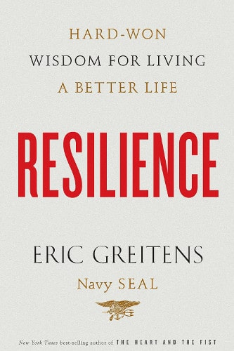 Resilience by Eric Greitens, book cover.