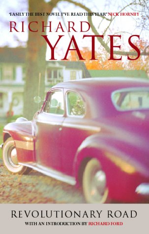 Revolutionary Road by Richard Yates, book cover.