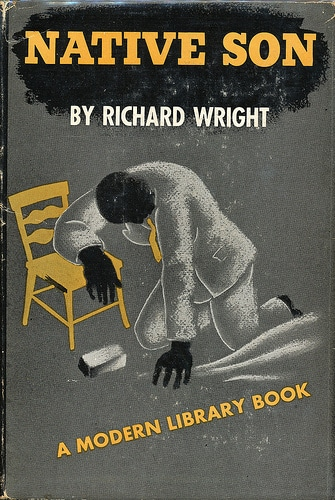 Native Son by Richard Wright, book cover.