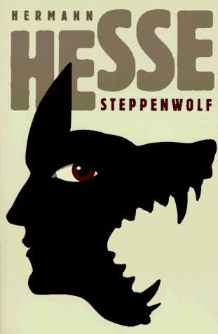 Steppenwolf by Herman Hesse, book cover.