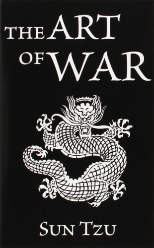 The Art of War by Sun Tzu, book cover.