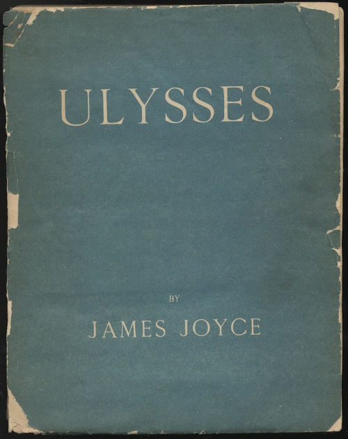 Ulysses by James Joyce, book cover.