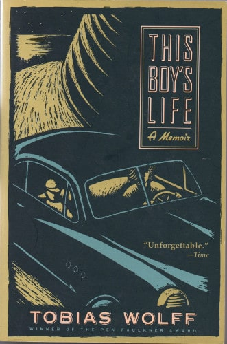 This Boy's Life by Tobias Wolff, book cover.