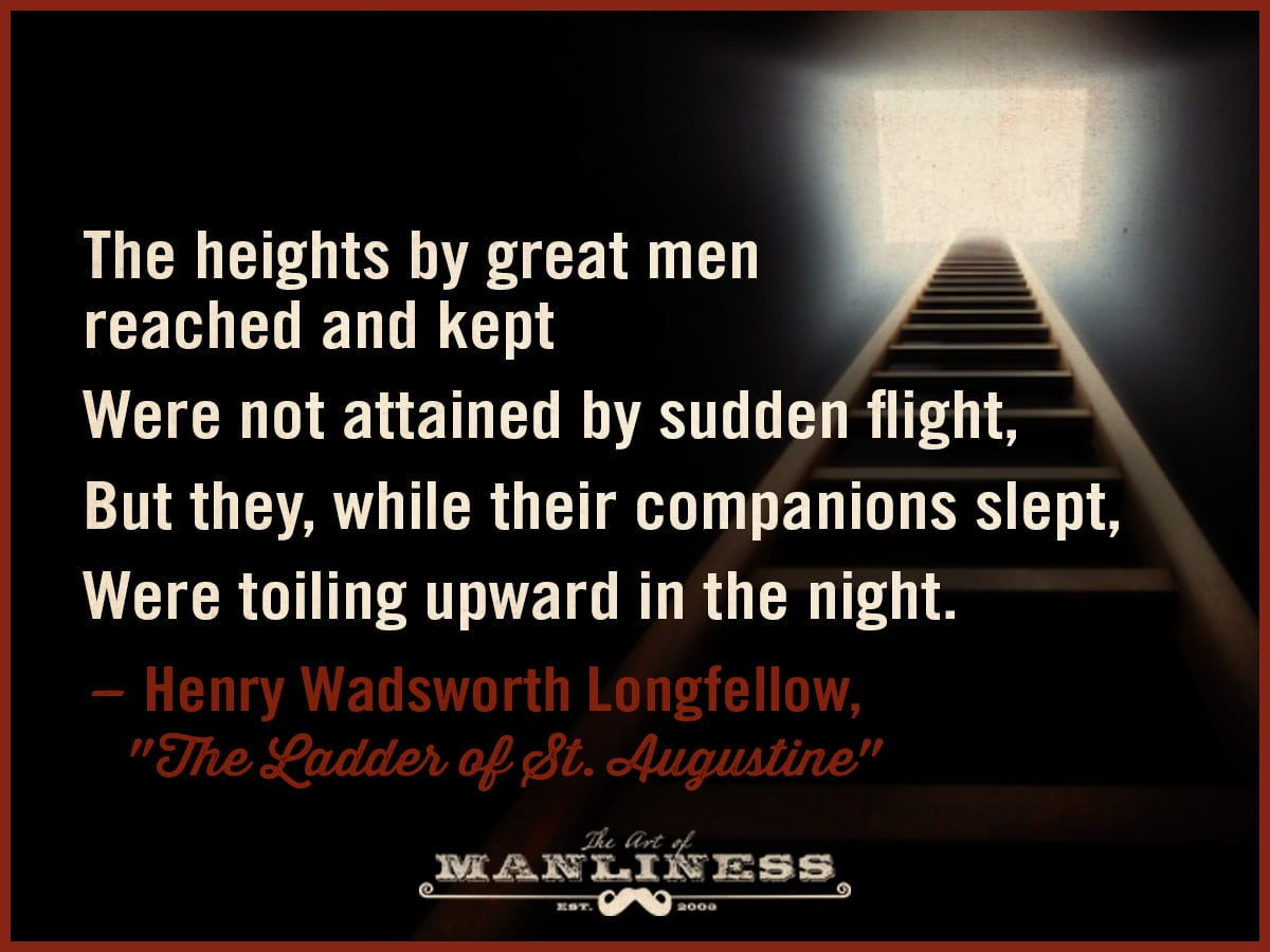 the ladder of st augustine henry wadsworth longfellow